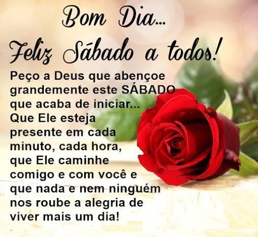 Bom Dia Feliz Sábado A Todos Mensagens Angels